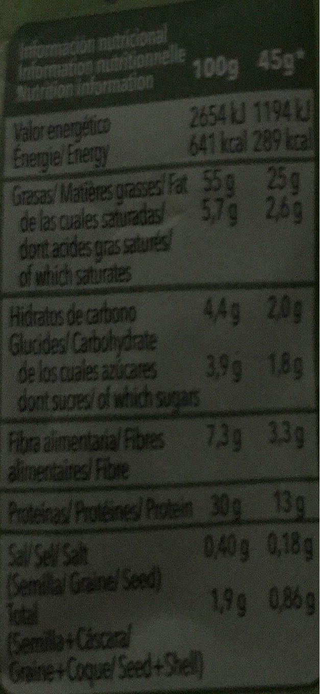 Pipas Tostadas Frit Ravich - Voedigswaarden