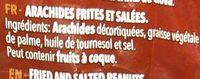 Cacahuets Salados 100G Frit Ravich - Ingredientes - fr