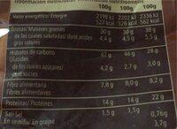 Cocteleo Chilli picante - Voedingswaarden - fr