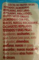 Frutos secos - Ingredientes - fr