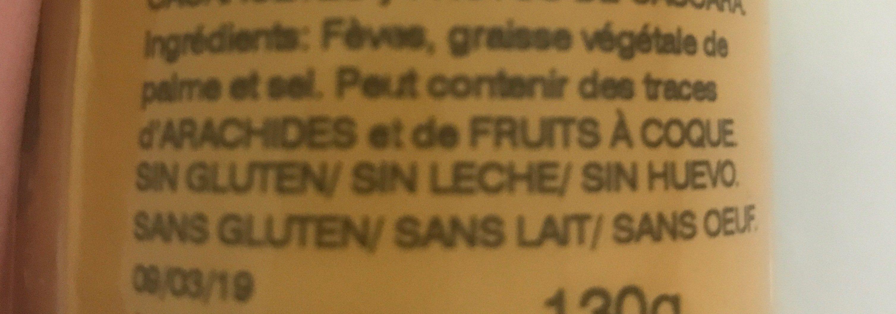 Faves Frit Ravich - Ingredientes - fr