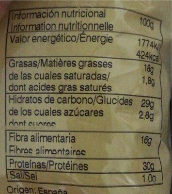 Faves Frit Ravich - Información nutricional