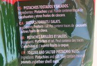 Pistachos Torrats Frit Ravich - Ingredientes - fr