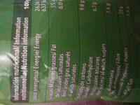Pistachos Torrats Frit Ravich - Información nutricional - fr