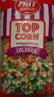 Top Corn Palomitas de Colores - Producto