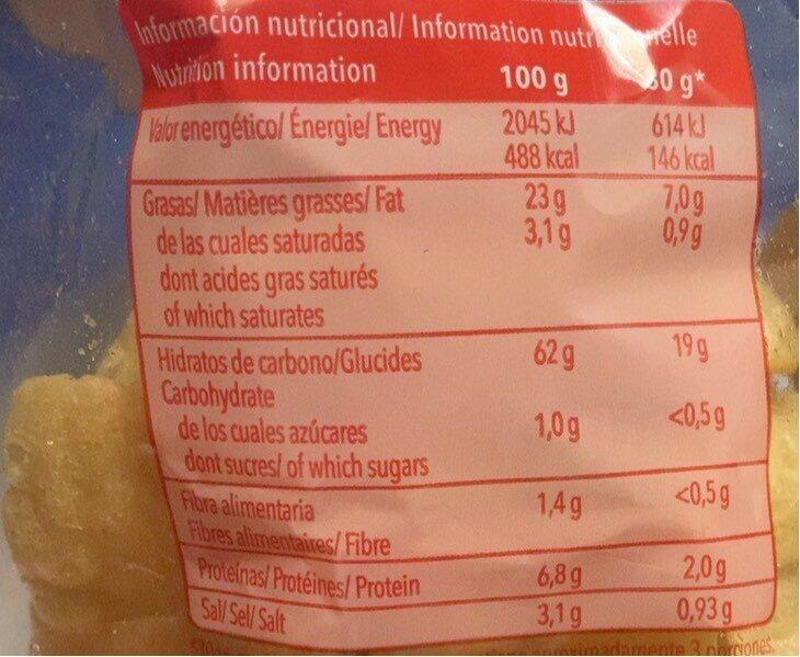 Boca frit - Nutrition facts - fr