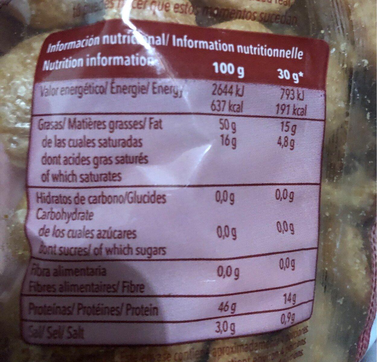 Chicharricos De Cerdo Frit Ravich - Voedigswaarden
