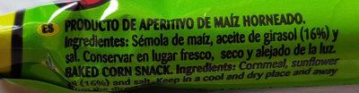 Aspitos - Ingredientes