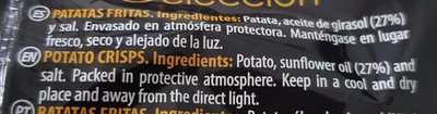 Patatas - Ingredients