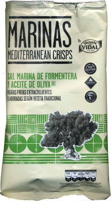 "Patatas fritas lisas ""Marinas"" Con aceite de oliva - Produit - es"
