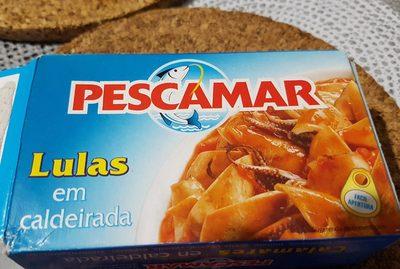 Calmars En Sauce Americane Pescamar. - Produit