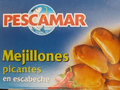 Mejillones picantes en escabeche - Product