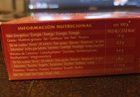 Mejillones en salsa de vieira - Nutrition facts - fr