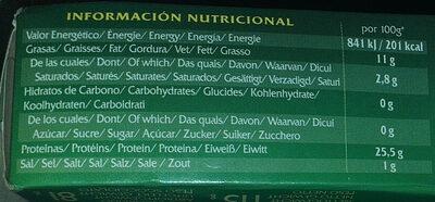 Sardinas en aceite de oliva - Nutrition facts - en
