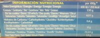 Sardinillas - Informació nutricional - fr