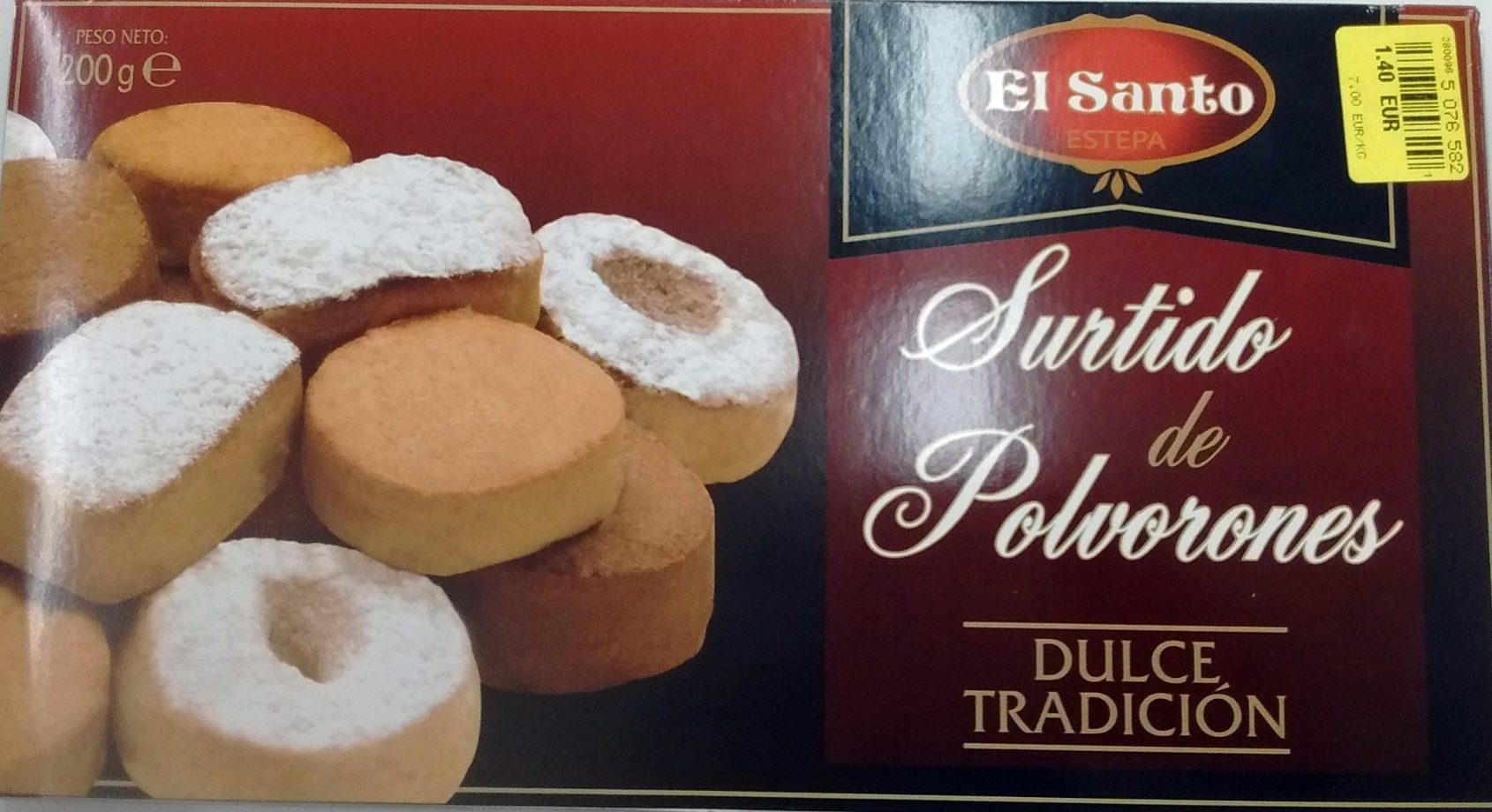 Surtido de Polvorones Dulce Tradicion - Product - fr