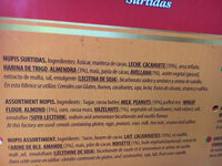 Nupis Surtidas - Ingredients