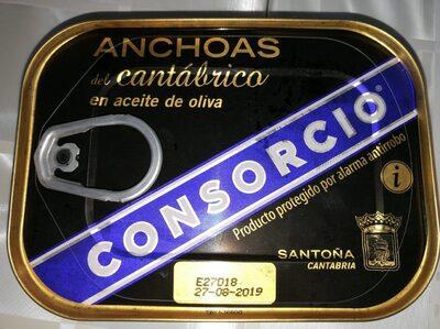 Anchoas del cantabrico en aceite de oliva - Producte - es