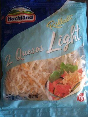 2 quesos rallado light - Producte