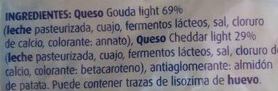2 quesos rallado light - Ingredients