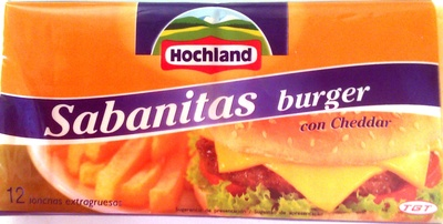 Sabanitas burger - Producto