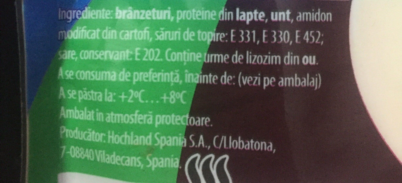 Queso Rallado especial Pasta Hochland - Ingrédients - fr