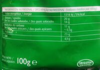 Queso Rallado especial Pasta Hochland - Informations nutritionnelles - fr