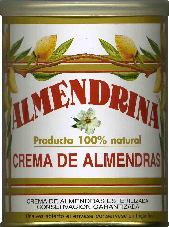 Crema de almendras - Product - es