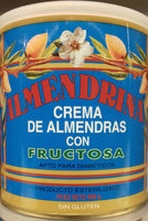 Crema de almendras con fructosa - Producto