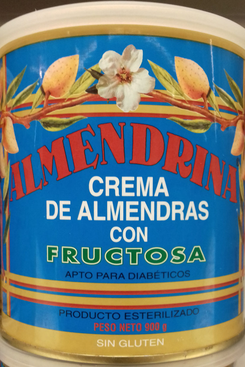 Crema de almendras con fructosa - Producto - es