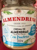 Crema de almendras con fructosa - Produit - fr
