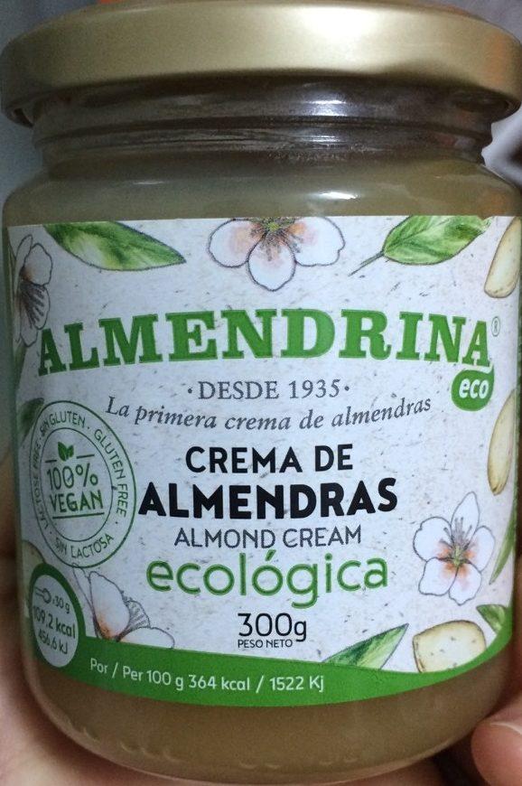 Crema de almendras ecológica - Producto - es