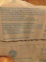 Tortas de aceite sin azucar - Ingredientes - es