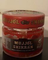 Mujjól Shikrán Rojo - Producto