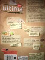 Ultima nature - Ingrédients