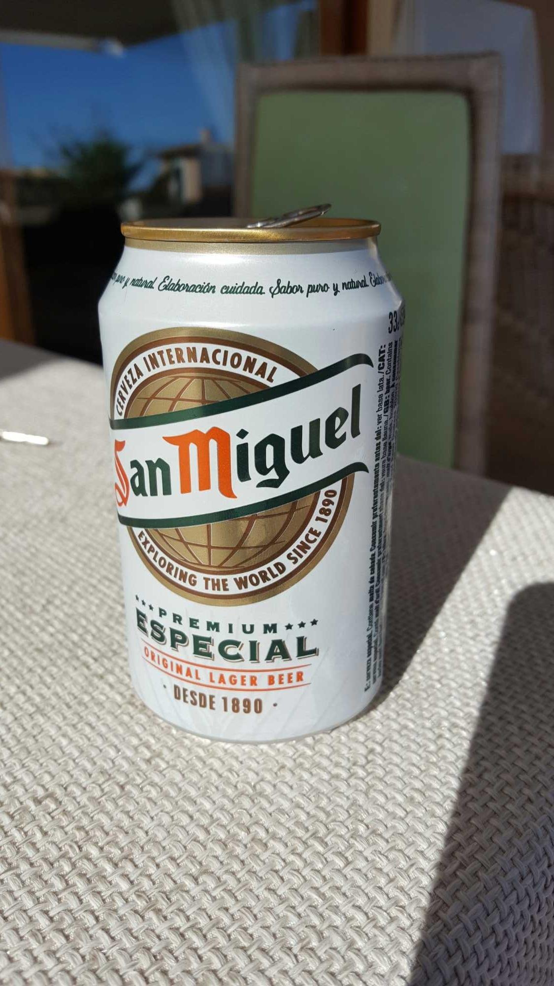 bière San Miguel - Producto