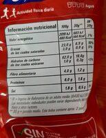 Boca bit - Voedingswaarden - es