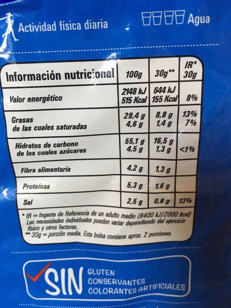 Munchitos Sensaciones - Informations nutritionnelles - es