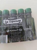 Aceite de oliva virgen extra - Ingrediënten - es