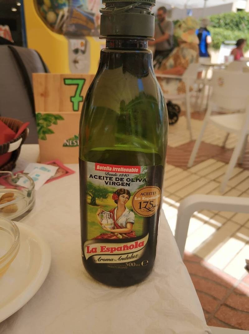Aceite de oliva virgen - Product