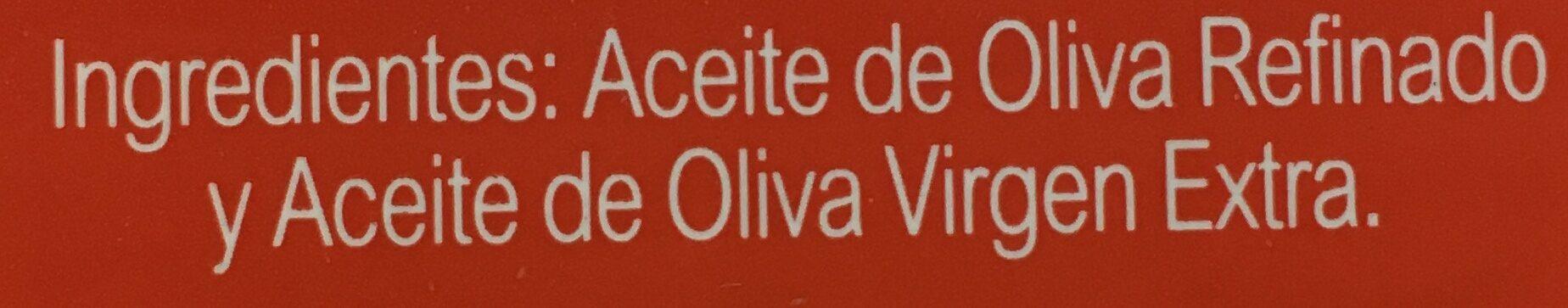 Aceite de oliva suave 0,4º bidón 3 l - Ingrediënten - es