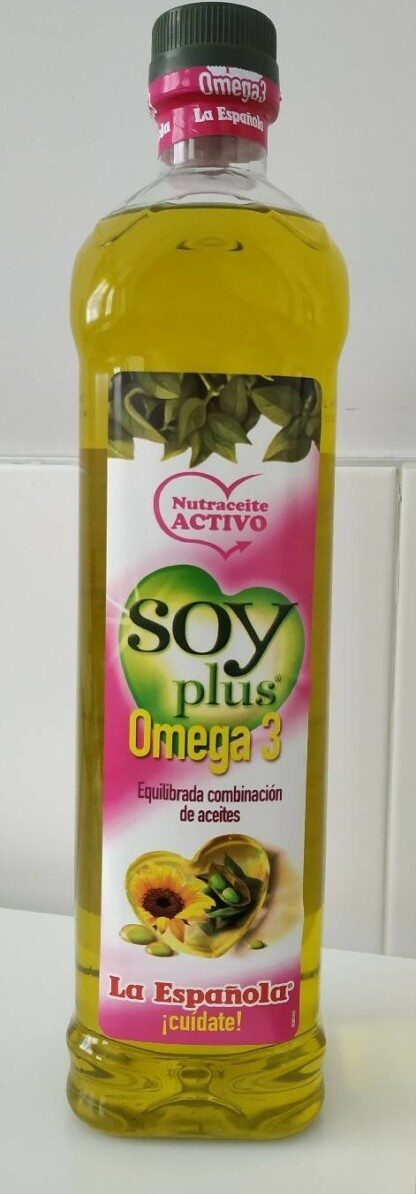 Soy plus aceite con omega 3 - Product - es