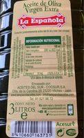 Aceite de oliva virgen extra bidón 3 l - Product - fr