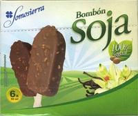 """Polos de soja recubiertos con chocolate """"Somosierra"""" Pack de 6 - Producto"""
