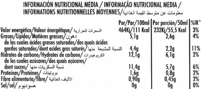 Bombón soja - Nutrition facts - es
