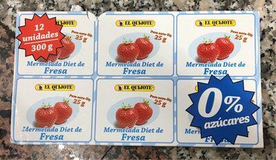 Mermelada fresa diet - Produkt