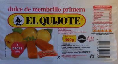 Dulce de membrillo primera - Producto - es