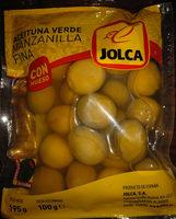 Aceitunas manzanilla con hueso - Produit - es