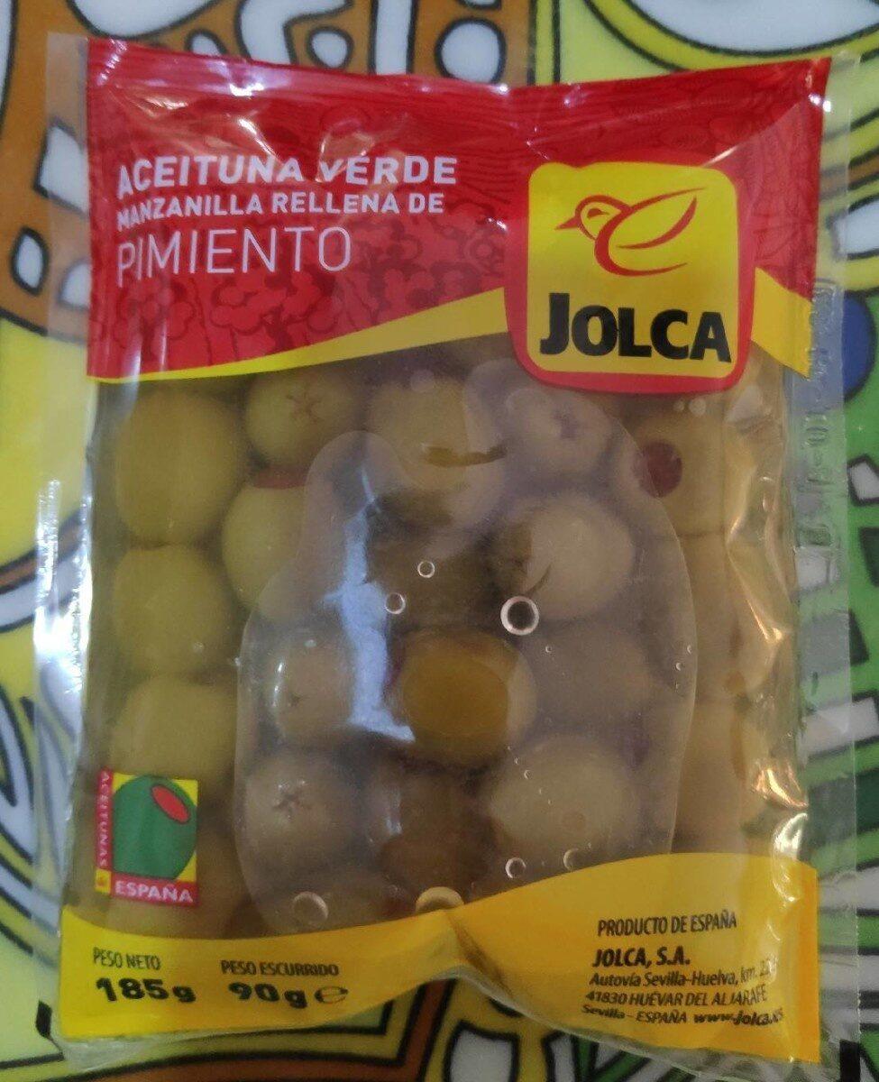 Aceituna verde manzanilla rellena de pimiento - Producte - es
