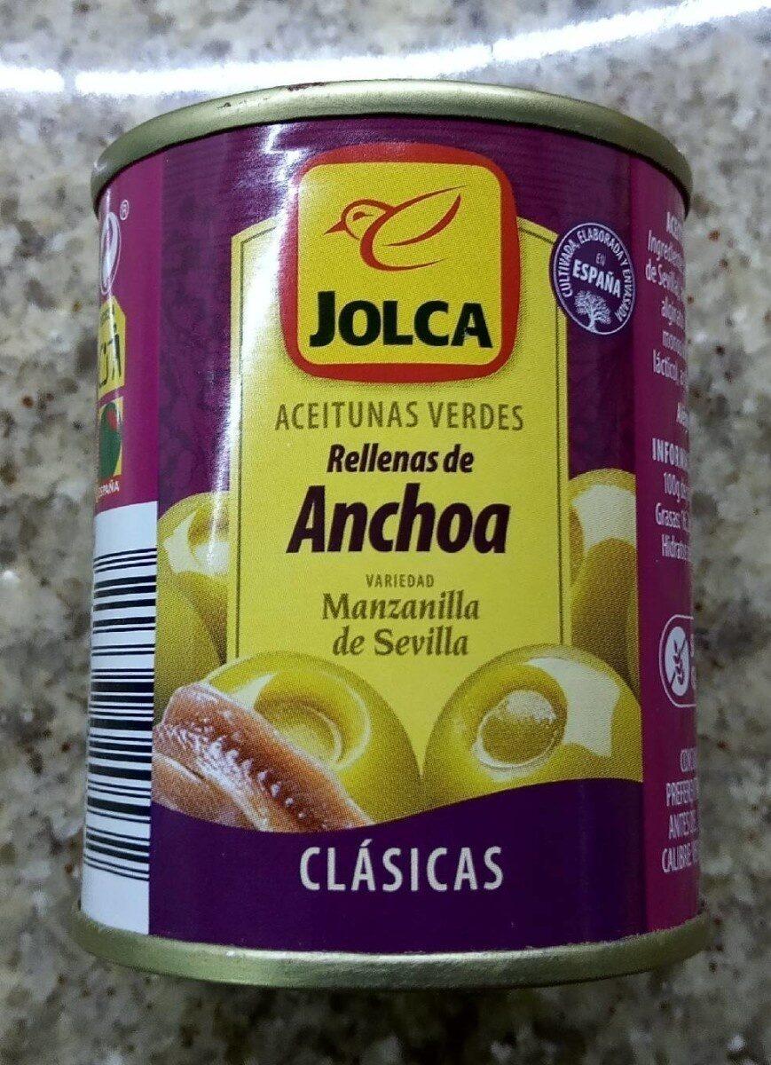 Aceitunas rellenas anchoa - Produit - es